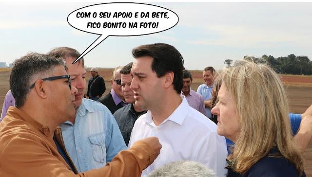 """Manoel Ribas: """"Pintou o prefeitável"""" apoiado pela atual administração?"""