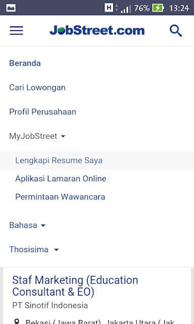 Cara mendaftar jobstreet.co.id fikriwildannugraha.blogspot.co.id mudah di terima kerja lulus ampuh cpns online internet langsung diterima tips nya bagaimana daftar UMR UMK terbaik perusahaan