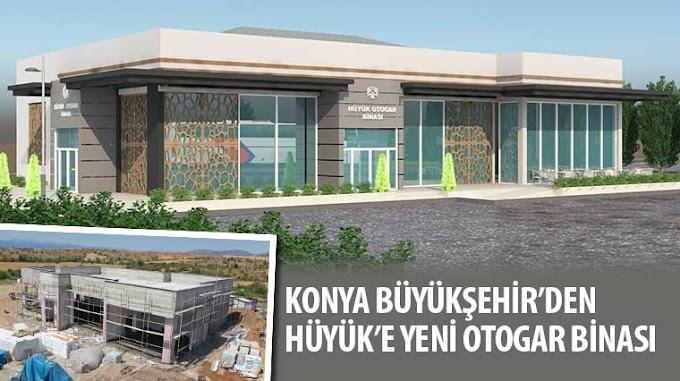 Hüyük'e yeni otogar binası