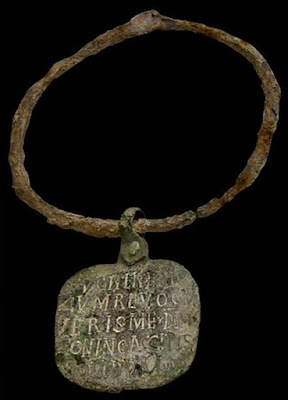 Ошейник римского раба