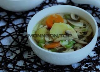 Canh khoai nấm