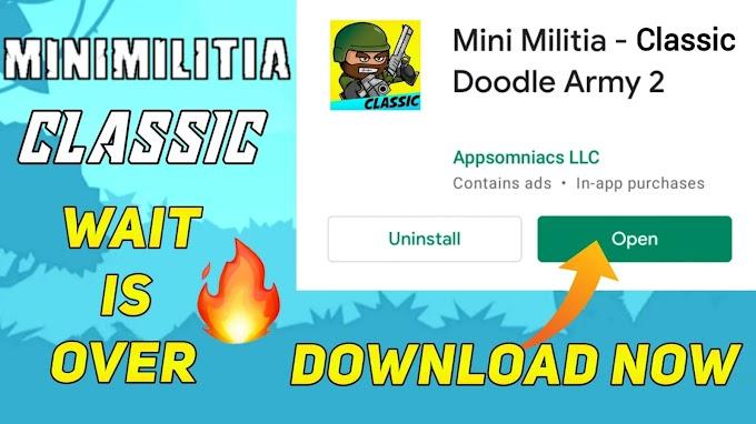 Mini Militia Classic Download Now!