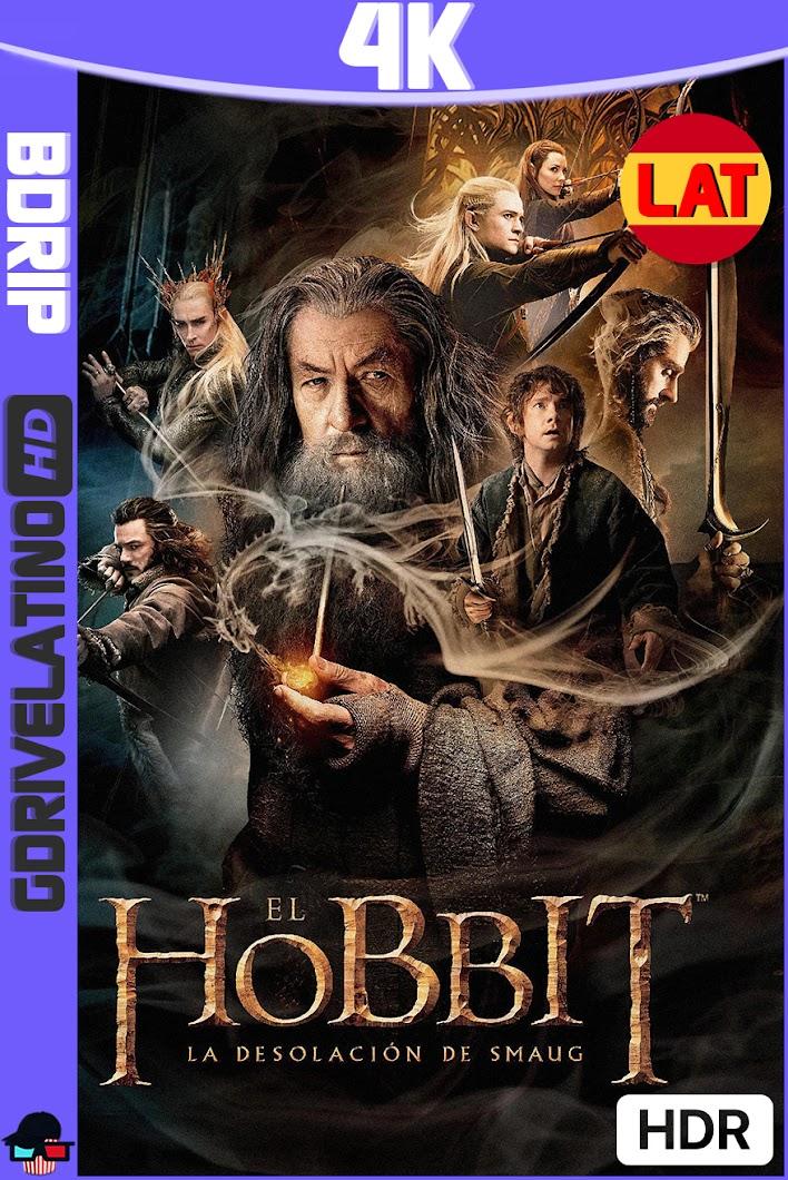 El Hobbit : La Desolación de Smaug (2013) EXTENDED CUT BDRip 4K HDR Latino-Ingles MKV