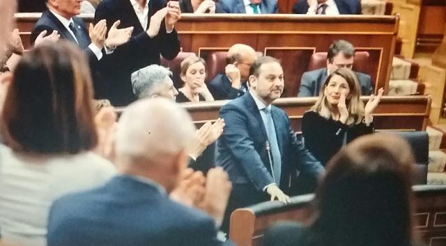 La oposición pide a gritos la dimisión del ministro Ábalos en el Congreso