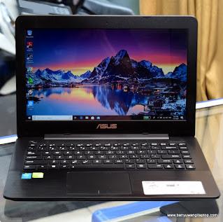 Jual Laptop Gaming ASUS A455L Core I3 Nvidia 820M - Banyuwangi