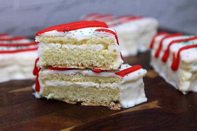 Christmas Tree Cakes – Little Debbie Copycat Recipe