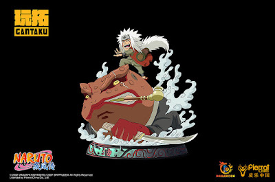 """Figuras: Imágenes de Jiraya & Gamakichi Chibi Ver. de """"Naruto"""" - Gantaku"""