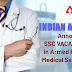 Indian Army Announces SSC Vacancies In Armed Forces Medical Services