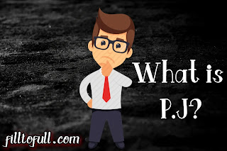 full form of PJ - what does PJ stands for?