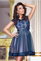 Rochie Brilliant Dark Blue • Rochie de ocazie