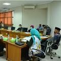 Bahas Pilkades 2021, Rapat Kerja Komisi I DPRD dan  DPMD Karawang