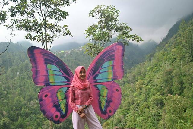 Spot foto kupu-kupu wisata Genilangit
