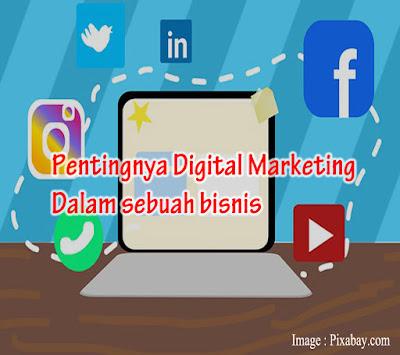 Pentingnya digital marketing untuk berbisnis