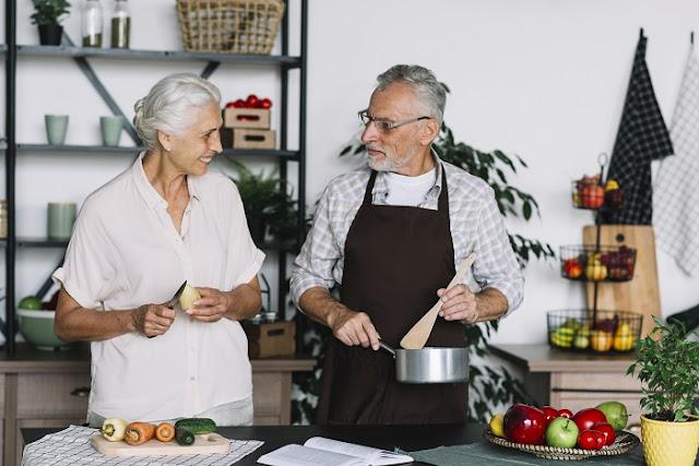 un lugar adaptado para adultos mayores