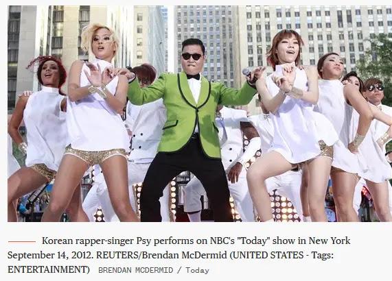 Gangnam style breaks Youtube view counter