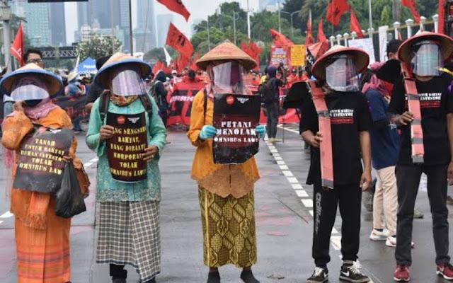 UU Cipta Kerja Ancam Keberlangsungan Petani Kecil di Indonesia