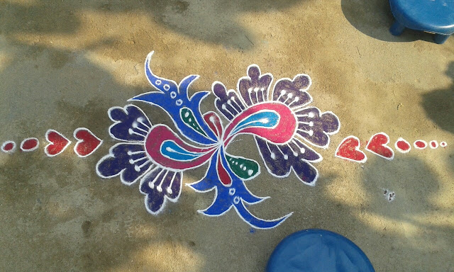 Rangoli Design for Pongal 37