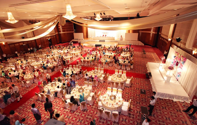 big wedding hall