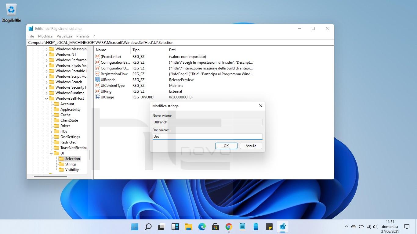 Windows 11, come accedere adesso al canale Dev Insider anche senza requisiti hardware