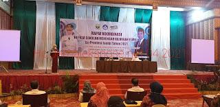 Pj Gubernur Jambi Secara Resmi Membuka Rakor Kepsek SMK Se-provinsi Jambi.