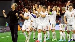 الدنمارك تواصل الرباعيات، هزمت ويلز وتأهلت لربع النهائي