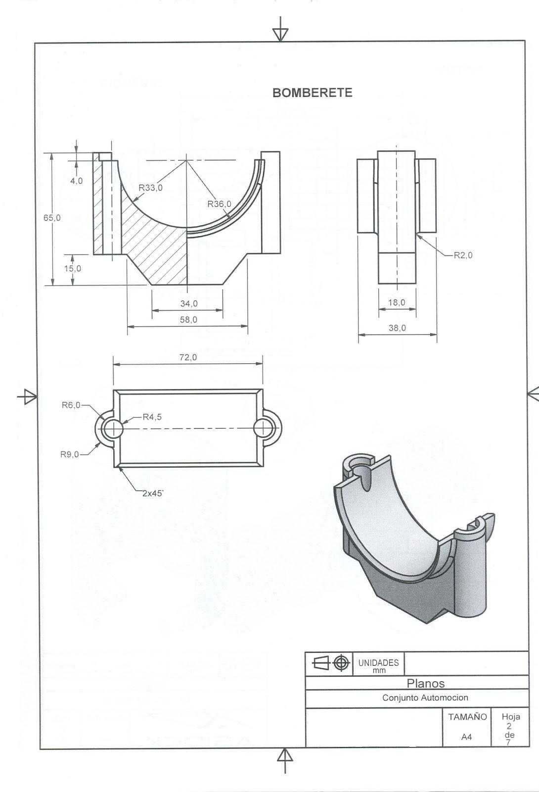 Catia e Inventor con Ciri: Motor 4 pistones y cigüeñal
