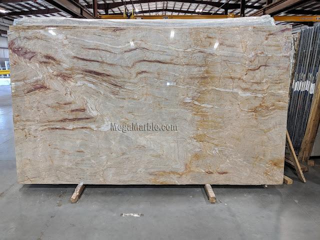 Nacarado Quartzite Slabs for Countertops