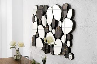 Designove zrcadlo na stěnu Reaction.
