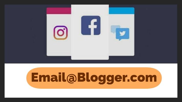 Cara Membuat Akun Sosial Dengan Blogger