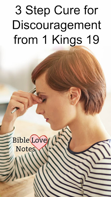 """In the Bible, we read about God's plan for Elijah to """"Eat, Rest, Cry"""" This 1-minute devotion explains. #BibleLoveNotes #Bible Study"""