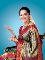 Anuska Shetty at saree ads