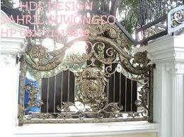 pagar besi tempa untuk pagar rumah mewah