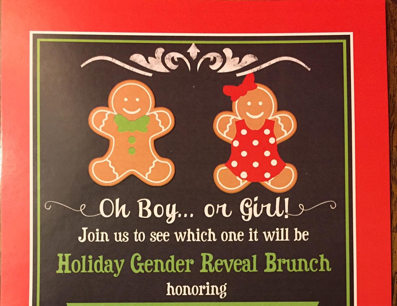 Christmas Gender Reveal Theme.La Bella Vita Event Company The Beautiful Life January 2016