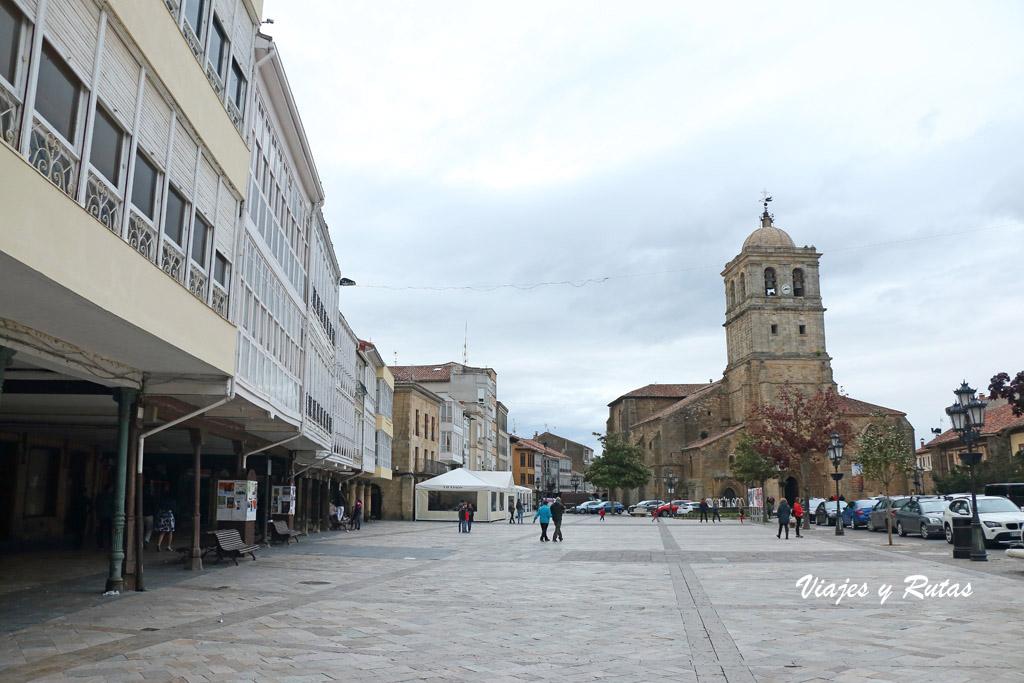 Plaza de España de Aguilar de Campoo