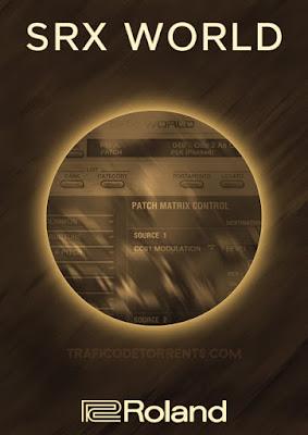 Cover do Plugin Roland - VS SRX WORLD 1.0.3