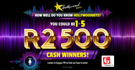 Hollywoodbets, Gagasi FM Promotion: Terms and Conditions