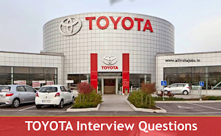 Toyota Interview Questions