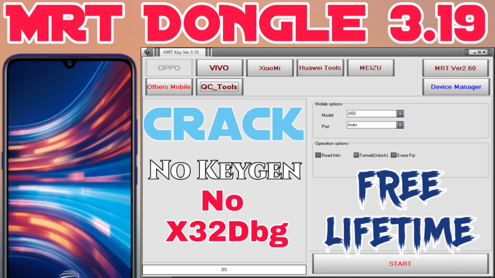 MRT Dongle V3.19 New Crack Setup With 100% Working (Windows 32Bit)