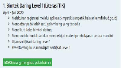 Pembatik Level 1