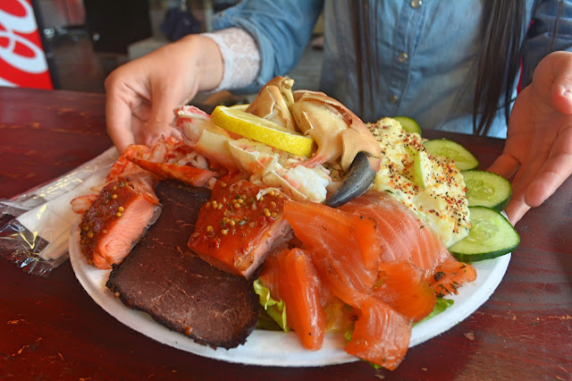 Seafood platter bergen