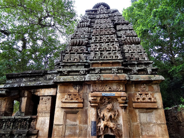The Nagara style temple in the Mahakuta temple complex