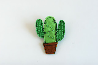 Cactus Fabric brooche tomtoy