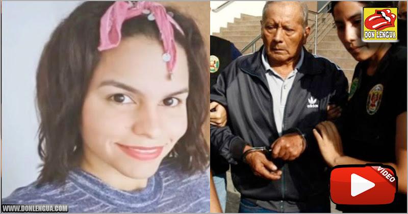 Anciano peruano confesó que asesinó a su cuidadora venezolana de un tiro en la cabeza