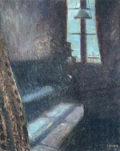 Эдвард Мунк - Ночь. 1890