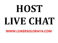 Loker Solo Host Live Chat Gaji Dollar di Mobile Aplikasi Host