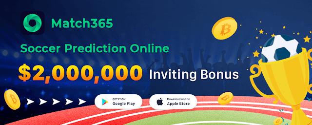 Match365 : Cara Mendapatkan Bitcoin Gratis Terbaru dari Aplikasi Match365