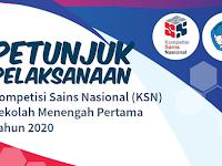 Petunjuk Pelaksanaan KSN SMP 2020