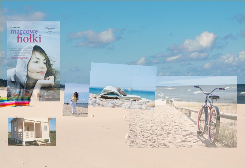 ksiażka na plaze