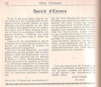 Obra Cristiana nº 96, Julio de 1930, página 61