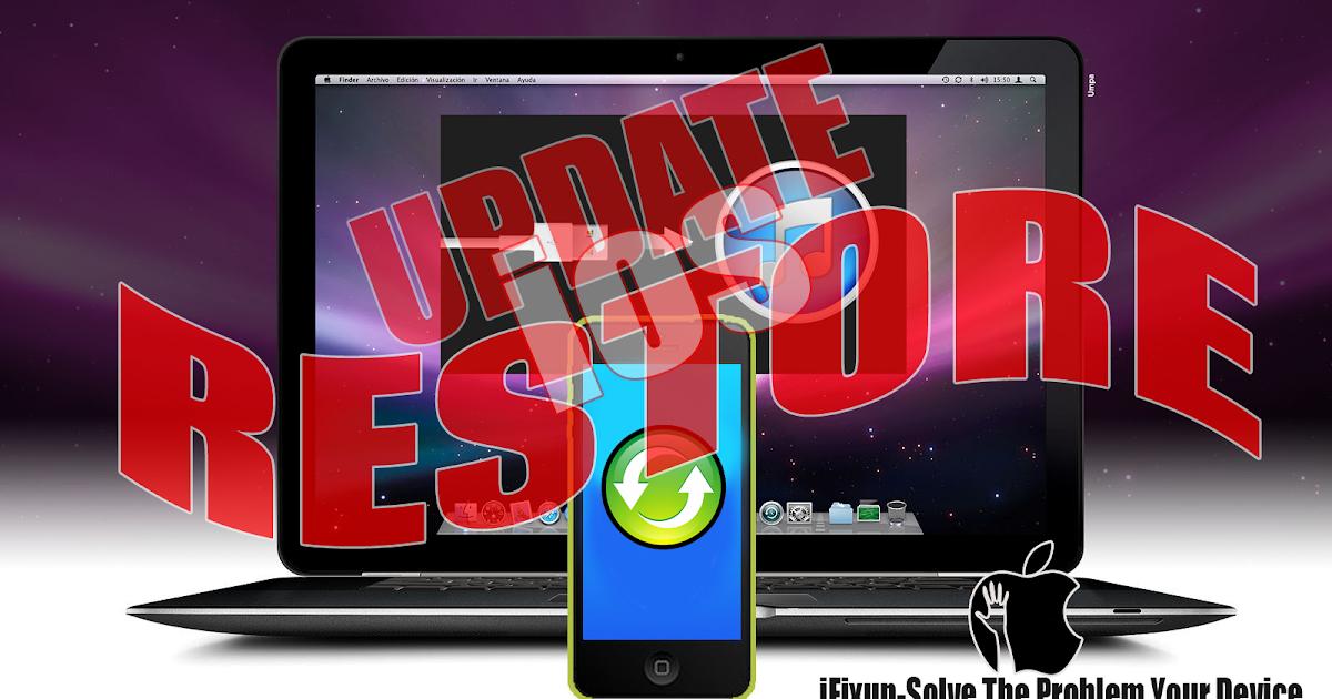 Cara Restore Dan Update IOs Secara Offline IFixup
